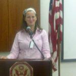 Lecturing at u.s. embassy, tel aviv